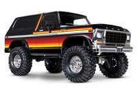 TRX-4 Ford Bronco Ranger XLT scale & trail crawler RTR, keltainen (ei sis. akkua tai laturia) (82046-4SUN)