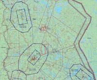 Rovaniemi, 22 APR 2021, VFR-ilmailukartta