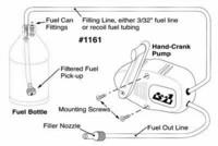 Polttoainepumppu metanoli/bensa (031161)