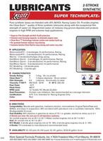 Klotz Super Techniplate öljy 0,95 litraa