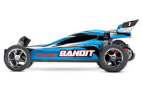 Bandit 2WD 1/10 RTR TQ Sininen w/o Battery (24054-4BLUE)