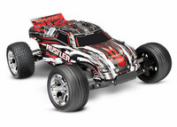 Rustler 2WD 1/10 RTR TQ - Punainen With Batt/Charger (37054-1RED)