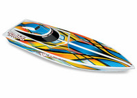 Blast EP Boat RTR TQ Oranssi with Battery & Charger (38104-1OR)