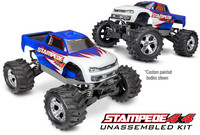 Stampede 4x4 1/10 Kit with Electronics w/o Batt/Charger (67014-4)