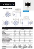 ECO 2814C 1120KV 432 W
