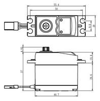 Servo 6,0 kg 0,13 s HV (SV-0320)