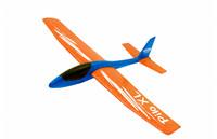 Heittoliidokki Pilo XL (oranssi siipi/sininen runko)