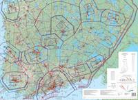 Southern Finland, 22 APR 2021, VFR-ilmailukartta