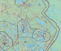 Kuopio, 22 APR 2021, VFR-ilmailukartta