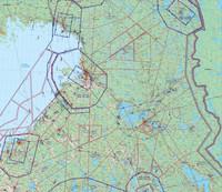 Oulu, 22 APR 2021, VFR-ilmailukartta
