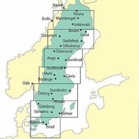 Kiruna, 25.3.2021, VFR-ilmailukartta (2052DC/2090B)