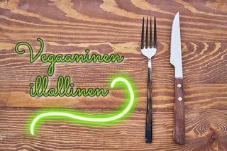 Vege-illallisen menu 7.3.2020 Iittalan kylätalolla