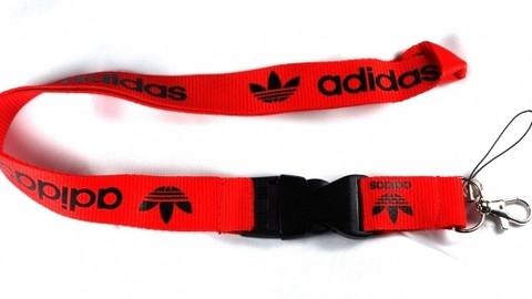 Adidas avainnauha, punainen