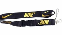 Nike avainnauha, musta/ kulta