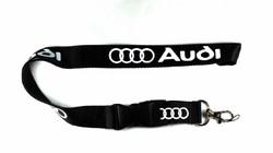 Audi avainnauha, musta