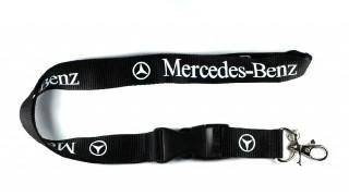 Mercedes-Benz avainnauha, musta