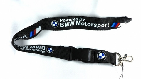 BMW Motorsport avainnauha, musta