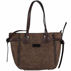 Pierre Cardin Shopper Marrone laukku