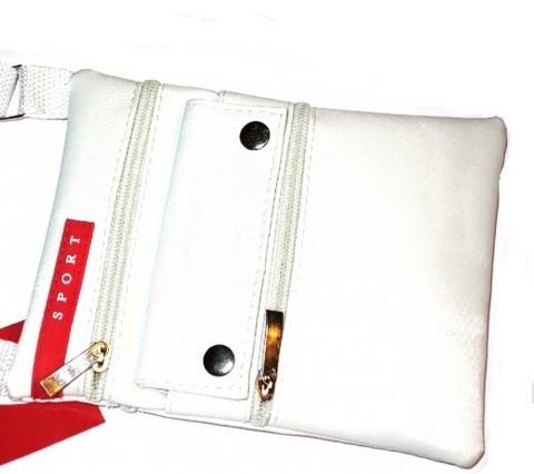 Sport minilaukku, valkoinen