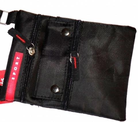 Sport minilaukku, musta
