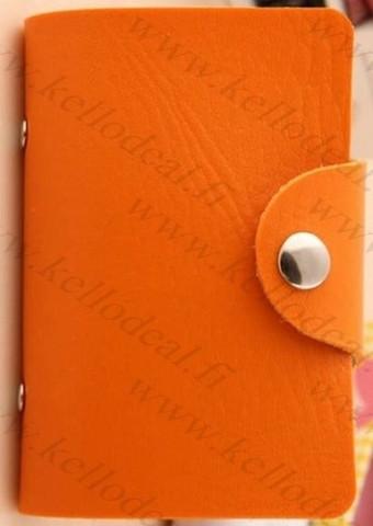 Retro korttilompakko, oranssi