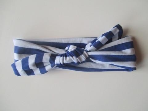 Sailor rusettipanta, sinivalkoinen