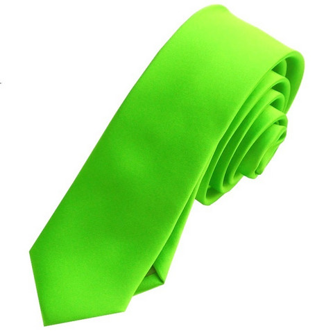 Miesten kapea solmio, green