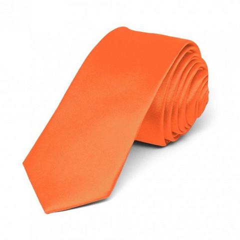 Miesten kapea solmio, orange