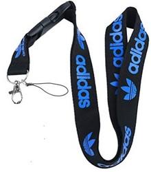 Adidas avainnauha, musta/sininen