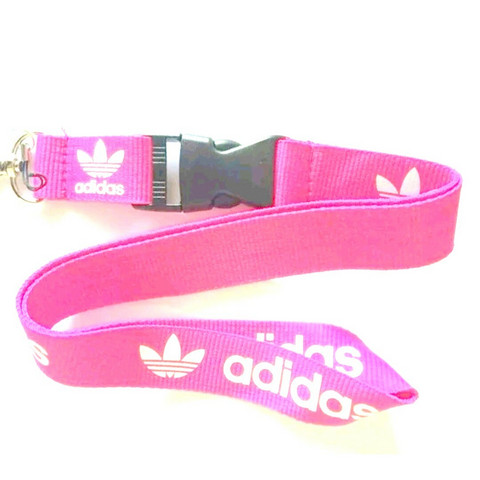 Adidas avainnauha, vaalean punainen
