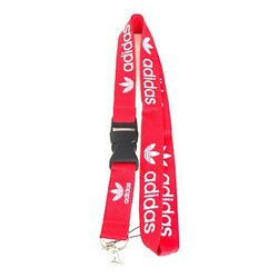 Adidas avainnauha, punainen/valkoinen