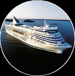 Edestakaisen Helsinki-Tukholma-laivamatkan päästöhyvitys 136 kg CO2