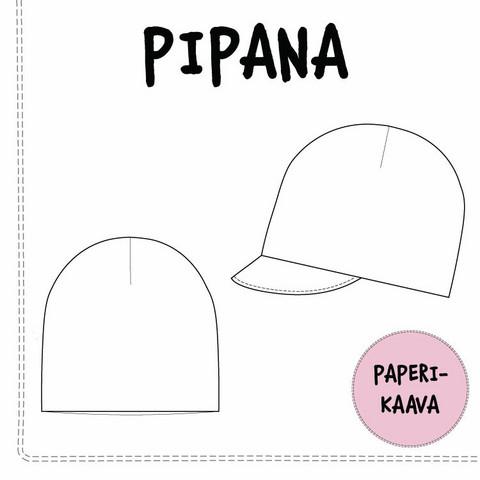 Paperikaava, Pipana pipo ja lippapipo 40-59cm