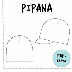 PDF-kaava, Pipana pipo ja lippapipo 40-59cm