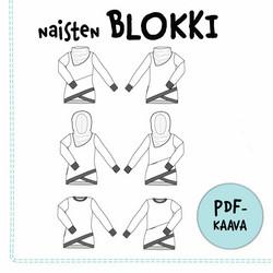 PDF-kaava, Naisten Blokki pusero 32-54