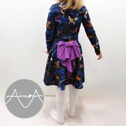 Paperikaava, Silvia mekko 92-140 cm