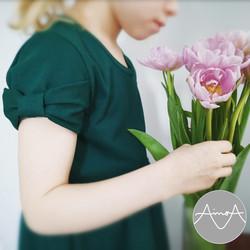 Paperikaava, Hertta mekko ja pusero 92-140 cm