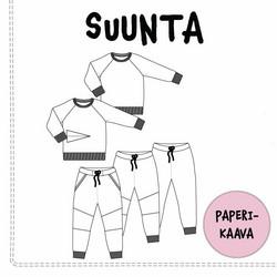 TULOSSA Paperikaava, SUUNTA collegepusero ja -housut