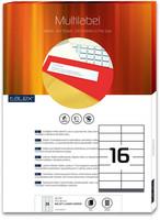 Monitoimitarra Talex 105x37 16-jakoinen  100/ltk