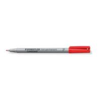 Staedtler Lumocolor 316 huopakynä 0,6mm vesiliukoinen punainen 10kpl