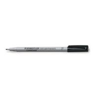 Staedtler Lumocolor 316 huopakynä 0,6mm vesiliukoinen musta 10kpl