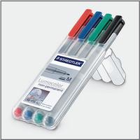 Staedtler Lumocolor 315 huopakynä 1mm vesiliukoinen värilajitelma, 1 kpl=4 kynää