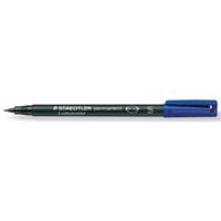 Staedtler Lumocolor 313 huopakynä 0,4mm permanent sininen 10kpl