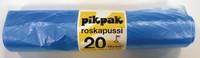 Roskapussi 20 l 42x50cm 50/rulla sininen