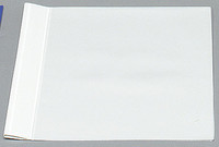 Esitekansio E462 A4 valkoinen etutaskulla