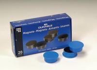 Magneetti 475506 37mm sininen, 1 kpl=20 magneettia