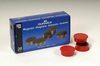Magneetti 475503 37mm punainen, 1 kpl=20 magneettia