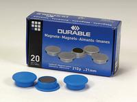 Magneetti 21 mm sininen 4702/06 20 kpl/paketti