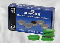 Magneetti 21 mm vihreä 4702/05 20 kpl/paketti