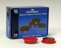 Magneetti 32 mm punainen 4753/03 20 kpl/paketti